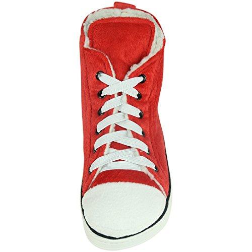 Slippers 3 Slipper Boots House Women's Outdoor Indoor Winter Home Warm Plush Red Sneaker zxwAHOA7q