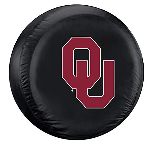 (Fremont Die NCAA Oklahoma Sooners Tire Cover, Standard Size (27-29