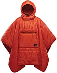 Therm-a-Rest Honcho Poncho Wearable Hoodie Blanket, Tomato