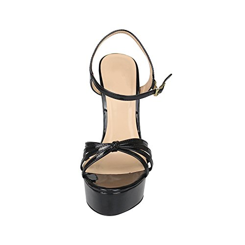 Picture of MAIERNISI JESSI Unisex Men's Women's Flatform Stiletto High Heel Strapy Slingback Sandals