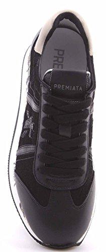 Sneakers Mujer Negre Black Leather 1806 Conny Zapatos White Art Premiata TFO5qTwv