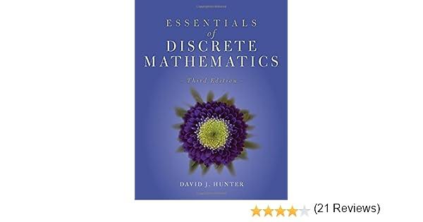 Essentials of discrete mathematics david j hunter 9781284056242 essentials of discrete mathematics david j hunter 9781284056242 amazon books fandeluxe Choice Image
