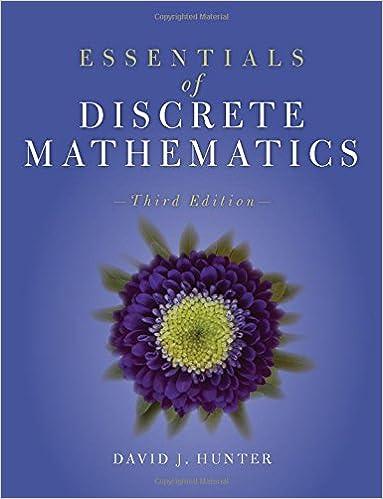 Essentials of discrete mathematics david j hunter 9781284056242 essentials of discrete mathematics 3rd edition fandeluxe Choice Image