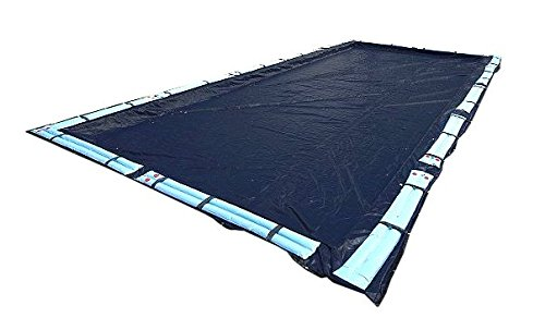 Swimline 25 x 45 Foot Dark Blue Winter Rectangular In Ground Swimming Pool (Inflatable Pool Covers)