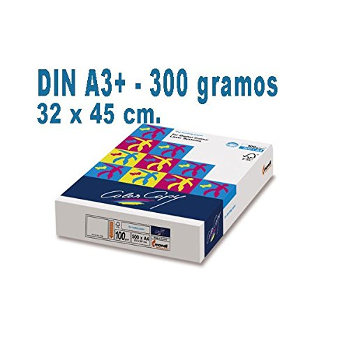 PAPEL COLOR COPY DIN A-3 PLUS DE 300 GRS. (5 paquetes x 125 ...