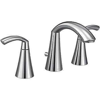 Moen T6173 Glyde Two Handle High Arc Bathroom Faucet