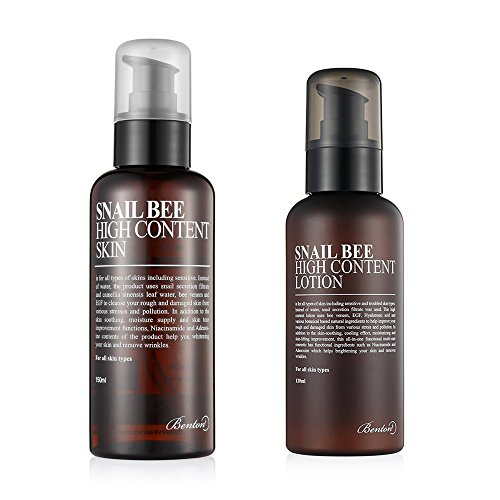 Benton Snail Bee High Content Skin and Lotion Combo with Ponytail -