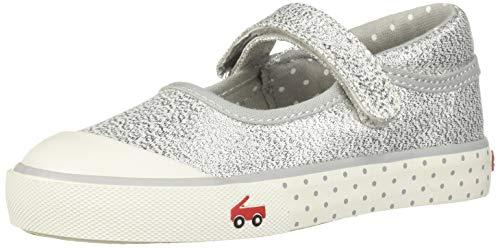 (See Kai Run Girl's Marie Sneaker Silver Dots 13.5 M US Little Kid)