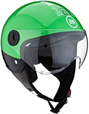 BHR Casco Moto Demi-Jet Linea One 801