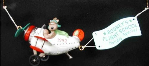 Hallmark Keepsake Ornament - Collectors Club - Rodney Takes Flight 1992 QXC5081