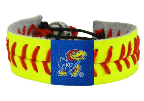 NCAA Kansas Jayhawks Classic Softball Bracelet - Ncaa Classic Bracelets