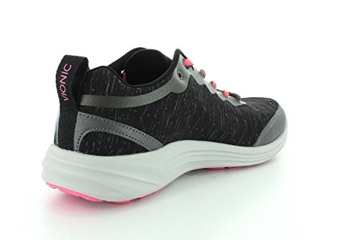 Vionic With Orthaheel Technology Womens Fyn Lace Up Sneaker Schwarz