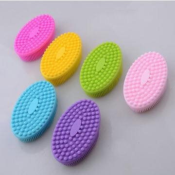 Silicone Baby Bath Sponge - 100% Soft and Natural For Your Babies Skin. Perfect for Adults as Well.