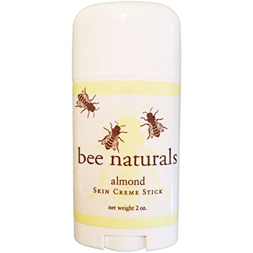 Bee Naturals Best Skin Cream Stick - Twist up Tube - TOP #1 SELLER - Solid Form Hand Lotion - Purse Size Travel Container - Smooth, Soothe and Soften Your - Top Sellers Care Skin