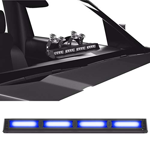 Striker TIR 4 Head LED Dash Light for Emergency Vehicles/Warning Strobe Deck/Dash Light Windshield Mount - - Lights Warning Dash