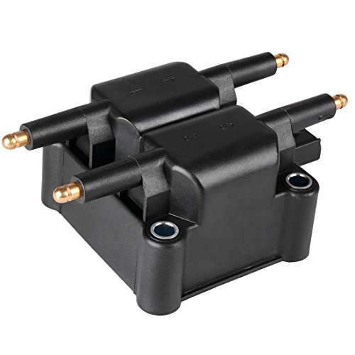 Ignition Coil for Chrysler PT Cruiser - Dodge Caravan/Neon/Stratus/Viper/RAM 1500/2500/3500 - Jeep Liberty/Wrangler (1 pack) (Neon Dodge Coil)
