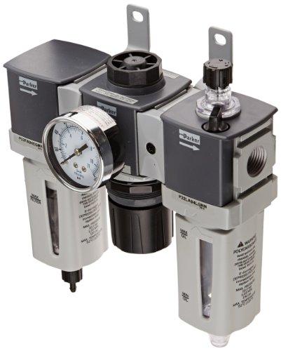 parker-p32cb94gemnglnw-modular-three-piece-filter-regulator-lubricator-1-2-npt-polycarbonate-with-bo