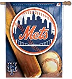 WinCraft New York Mets Classic Vertical Flag: 27x37 Banner