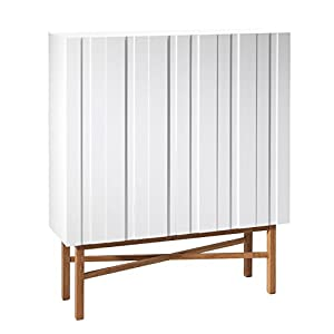 Aprodz Solid Wood Japeri Sideboard Storage Cabinet for Living Room