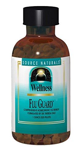 (Source Naturals Wellness FluGuard, Homeopathic Remedy,1 Ounce 565 Pellets)