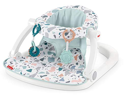 Fantastic Deal! Fisher-Price Sit-Me-Up Floor Seat - Pacific Pebble, Infant Chair
