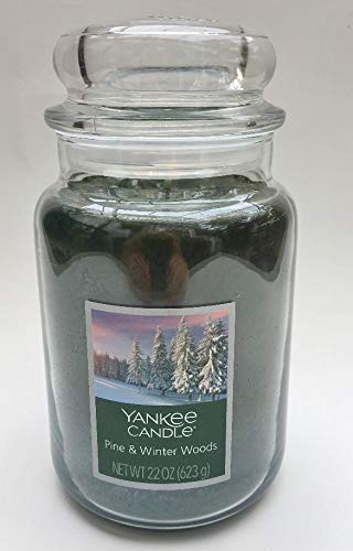 Yankee Candle Large Pine & Winter Woods Jar Candle