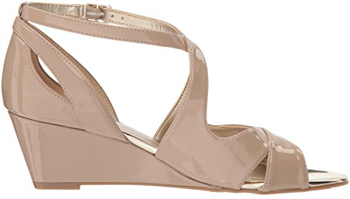 Bandolino Women's Omit Wedge Sandal Cafe Latte OjACaU