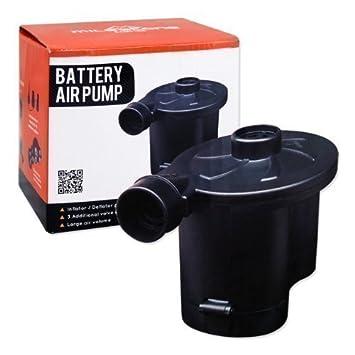 Inflador con batería bomba de aire para campings festivales ...