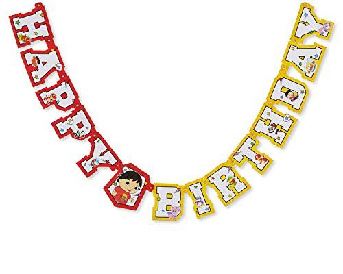 American Greetings Ryan's World Birthday Party Banner