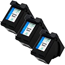 ESTON 3 Pack #61 XL High Yield Black CH563WN Ink Cartridge for ENVY 4500 5530 Printer