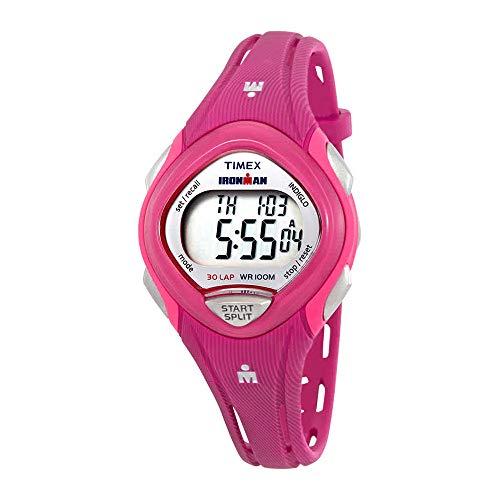 Timex Women's Ironman Sleek TW5M09000 Pink Plastic Quartz Sport Watch