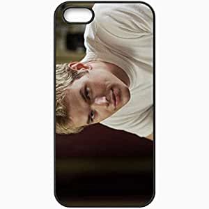 Personalized For HTC One M7 Phone Case Cover Skin Kellan Lutz Blond Hair Shirt Face Eyes Black
