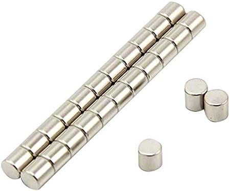 First4magnets F641-N35-50 Aimant en N/éodyme N35 0,76 kg dattraction /Ø 5 mm x Epaisseur 5 mm Paquet de 50