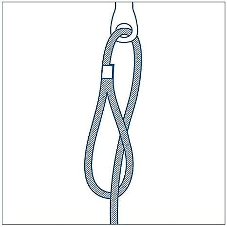 Drahtseilabh/ängung mit Schlaufe Dobygrip in verschiedenen Ausf/ührungen 10 kg Traglast Drahtseilhalterung f/ür Rohre Leitungen Karabiner Ringschraube M6//M8 Drahtseilsystem Lampen 1-5 m lang