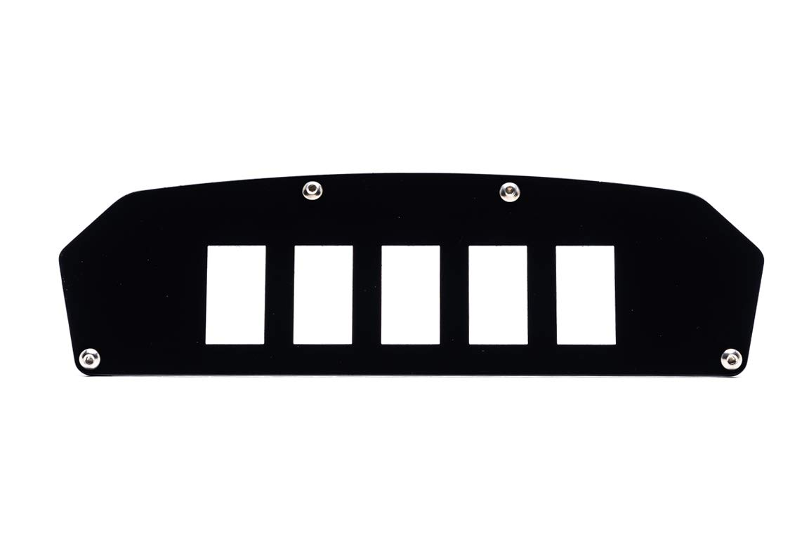 UTV INC Can Am Commander and Maverick 5 Switch Dash Plate Mounting Panel by UTV Products