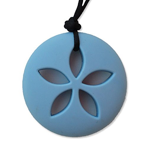 Zen Rocks Sand Dollar River Rock - Blue Topaz