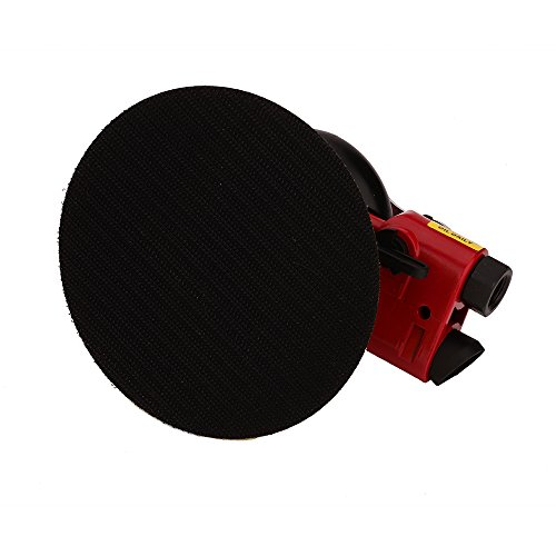 Professional Air Random Orbital Palm Sander, Dual Action Pneumatic Sander, Low Vibration, Heavy Duty by Gedu (Image #4)