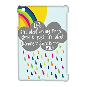 Personalized Life Isn'T About Waiting For The Storm To Pass iPad Mini 3D Case, Life Isn'T About Waiting For The Storm To Pass Customized 3D Case for iPad Mini at Lzzcase