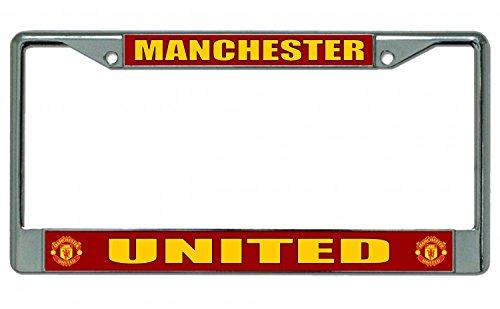 manchester-united-chrome-license-plate-frame