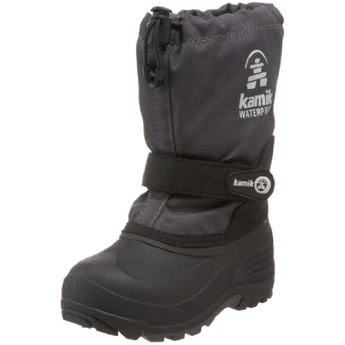 Kamik Waterbug Wide Cold Weather Boot ,Charcoal,10 W US Todd
