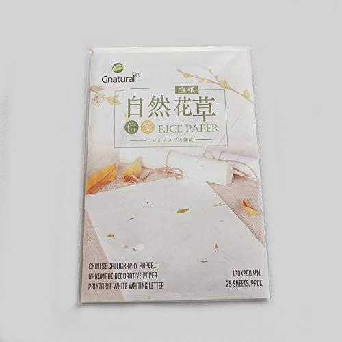 ハンドメイド 装飾 紙 印刷可能 ホワイト ライティング レター 紙 ライス 紙