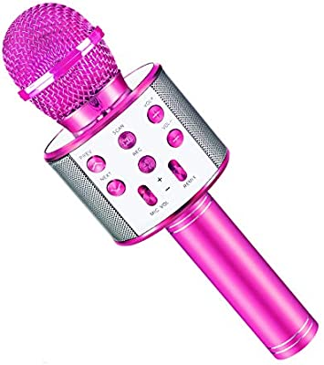 Hahagift Gifts For 3 9 7 8 Year Old Girls Gifts Age 8 7 Karaoke Microphone