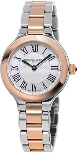 Frederique Constant Women's FC200M1ER32B Delight Analog Display Swiss Quartz Two Tone Watch