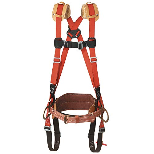 Deluxe Safety Harness with Full-Floating Body Belt, 23-M Klein Tools LH5278-23-M