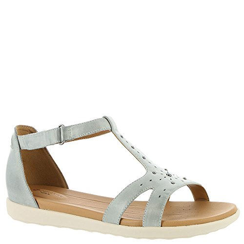 Mara 5 Un Women's US 7 B Reisel Blue Sandal M CLARKS Grey wSHEaqq
