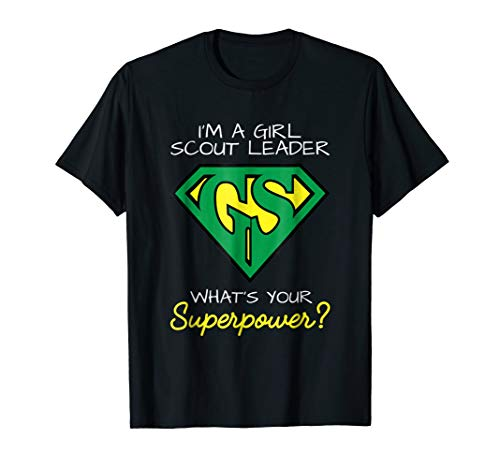 Superpower Scout Leader Shirt Scout Mom