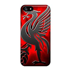 KerryParsons Iphone 5/5s Scratch Resistant Hard Phone Cases Customized Beautiful Liverpool Pattern [pXN17356ZnvB]