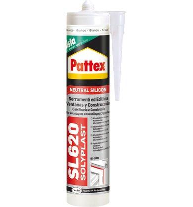 Pattex Silicone Neutro Per Edilizia E Serramenti 'Solyplast' ml 300 - TDM RAL 8014