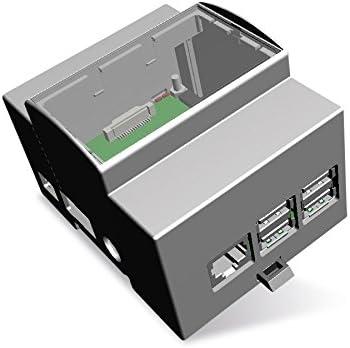 Carril de Carcasa para Raspberry Pi Model B +, 4ª: Amazon.es ...