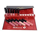 Matte Liquid Lipstick Set, 12 Colours Mate Lip